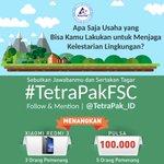 @boyang  Wow ada  hadiah smartphone & pulsa yuk follow @TetraPak_ID dulu ikutan kuisnya ck TLa #TetraPakFSC https://t.co/Xg52FzJaVT