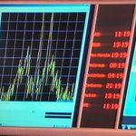 Before & after: @ESA_Rosetta signal peak just prior to #cometlanding - then it was gone https://t.co/kSnvApCaCi
