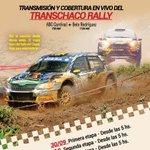 #TCR2016🚘: ¡Seguí la transmisión EN VIVO de la primera etapa del Transchaco Rally 2016 por @ABCCardinal! 🔧🔩🚥🚘🏁 https://t.co/U6KMfcRpkK