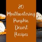 20 Mouthwatering Pumpkin Desserts https://t.co/L0REHx1cpk #foodie #recipe #dessert https://t.co/wRocpBnxIG