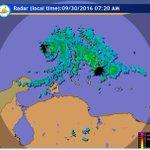 ".@meteovenezuela: AVISO 7:30am ""Centro del Huracán #Matthew CAT2 apenas a 200km al N de Cabo San Román, Paraguaná https://t.co/d4qYAIFHbW"