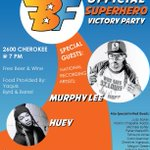 7 pm Saturday @brucefranksjr #HD78 Re-Vote Victory Party a.k.a. The Peoples Party, Superheroes Party https://t.co/PCosJJkqf0