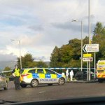 Cops blast out car tyres in chase near busy #Glasgow supermarket https://t.co/EkUipjwG5g https://t.co/mLt8EwnMOn