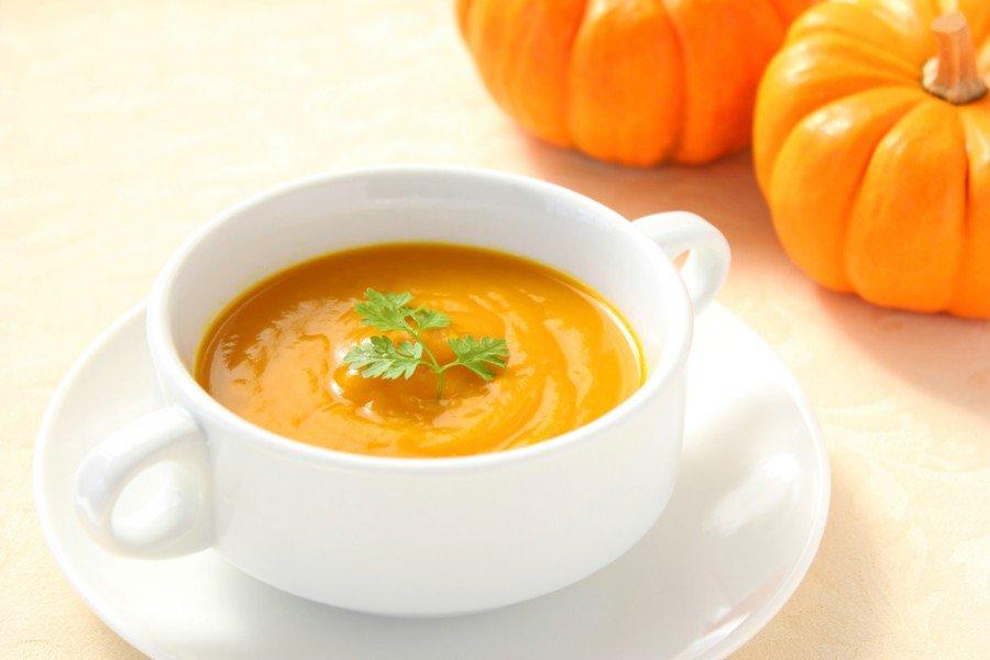 Приготовить суп-пюре с тыквой