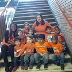 Today is #OrangeShirtDay at Fairbank. Teaching FDK students about equity and inclusion! Every child matters! @tdsb https://t.co/g8n9s5UEEI