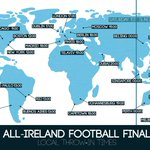 Not in the country for the match tomorrow? Here are the local throw-in times around the world #COYBIB #DUBvMAYO https://t.co/O1z9DgfdAK