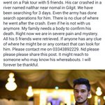 Guys please RT. It might reach someone who may know of his whereabouts. https://t.co/Gy6svJKtqd