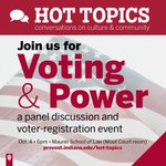 Be an informed voter! Campus to host panel discussions and other events leading up to the 2016 elections. Info: https://t.co/TF428qPECR https://t.co/lPmylltv9K