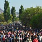 Una multitud acompaña a la Virgen India desde Sanagasta a La Rioja. vía @sanagastaciudad https://t.co/2dGBovzXRN