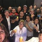 Team @sistematv celebrando el éxito del #DebatePonce @stvinforma https://t.co/WrMaCtQWZL