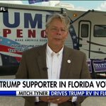 """Mitch Tyner: """"You cant believe the enthusiasm here in Florida for Mr. Trump. Its outstanding."""" https://t.co/381FLCYsZt"""