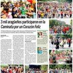 @CiudadMCY: 3 mil aragüeños participaron en la Caminata por un Corazón Feliz @TareckPSUV @NicolasMaduro @dcabellor https://t.co/0aMF7aHomn