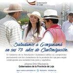 Saludamos a los ciudadanos de #Gonzanamá al cumplir 73 años de vida política ¡Viva Gonzanamá! @johaortizv https://t.co/XusJhCX4cb