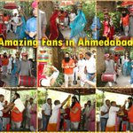 Warm welcome by fans in Ahmedabad. Incredible love!! Just #7DaysToLionHeart !! Are you all excited? https://t.co/TuaiutR2xJ