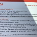 Invitados hoy al #ELAP2016 A partir de las 11:00 Desafíos económicos de América Latina en @ciespal @pabelml https://t.co/rr0WRSLA8F
