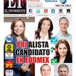 Portada del día: PRI alista a su candidato para #Edomex. https://t.co/Xm0pouQ9SI https://t.co/YfmxU1Tdo3