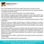 """#30S """"Todos ellos ahora nos hablan de democracia y DDHH"""", @MashiRafael #ElPasadoNoVolverá https://t.co/RpF9N6CXWg"""