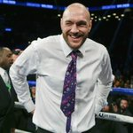 Oops! Looks like Tyson Fury hasnt just crossed the line this time, hes sniffed it. https://t.co/r51nWm4dHt