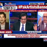 The day terrorists knock up your door & soldiers remain silent, then we will see your answer: Ashoke Pandit to Mayank #PakArtistsBanned https://t.co/mYAvIgxpn5