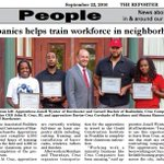Cruz apprentices featured in @DotNews creating jobs and opportunities for #Roxbury #Dorchester #Roslindale #Boston https://t.co/JaFQDjuyjo