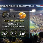 Hard to imagine a better Saturday night in Death Valley for @Coach_EdOrgeron & the Tigers. #lsu https://t.co/cLCVTubB6D