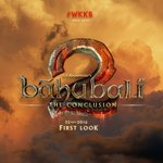 First look of Baahubali 2 the conclusion will be out on 22nd oct, a day before Prabhas' birthday #WKKB https://t.co/2Fc2ifIg3a