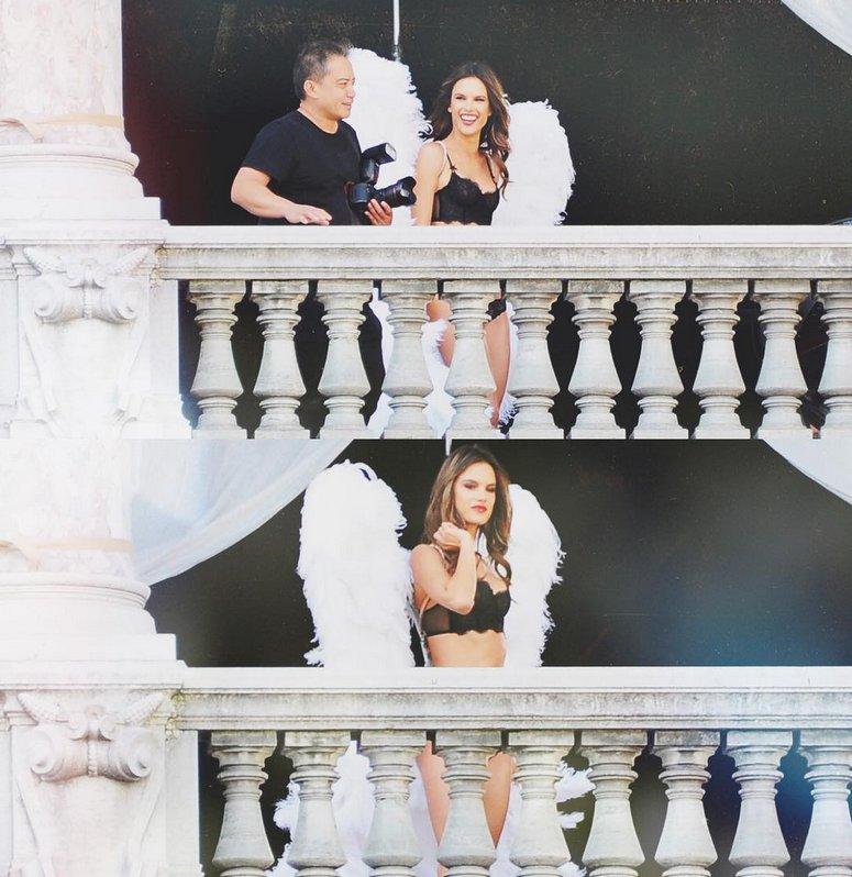 RT @AngelAlessandra: The bigger the wings, the better! ???? #vsholiday16 @VictoriasSecret ???? @jerome_duran https://t.co/3IbeT9WwF5