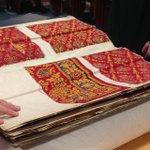 Fabulous #turkeyredarchive pattern book on display for #Explorathon16 @AnitaQuye @uofglibrary @ernscot https://t.co/315U3H4BEm