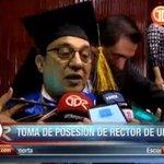 Eduardo Flores toma posesión como nuevo rector de la @universidad_pma en la mañana de hoy. #TReporta https://t.co/6fj9KhlT8U