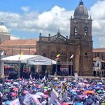 El camino es La Paz, así lo reitera el pueblo boyacense. #BoyacáDiceSíALaPaz https://t.co/CcU4WAqn1R