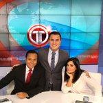 Presentando los #DeportesTR en @treporta junto a @VanessaCalvino y @tavoj2828 😉. https://t.co/jLNevl9LEB