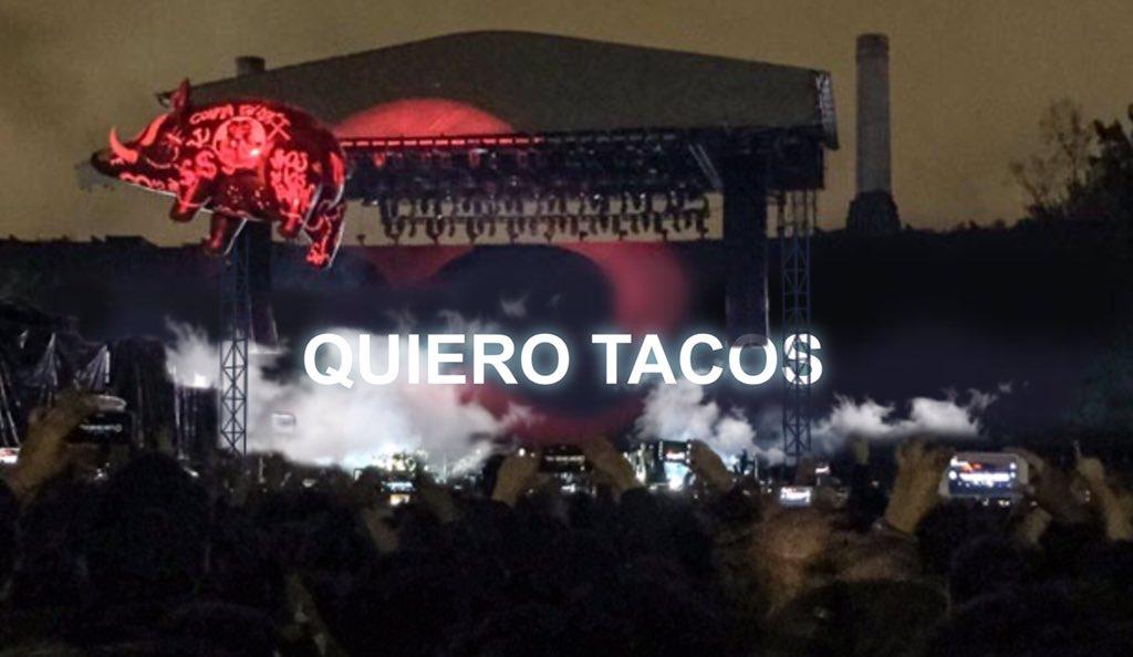 Otro de los mensajes mas poderosos de @RogerWaters #pinkfloyd #tacos #hacehambre #mexico https://t.co/9zVMZLiXvj