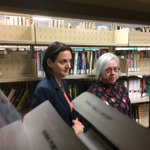 1/2-Municipal Affairs Minister Danielle Larivee (left) at Standoff library. Province providing $670K for libraries... https://t.co/vzGJN3ATib