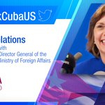 Happening soon🔜 Exchange💬 with @JosefinaVidalF on #Cuba🇨🇺-#US🇺🇸 relations. ✍️Tweet your questions with👉👉 #AskCubaUS https://t.co/D6RMNSS3cV