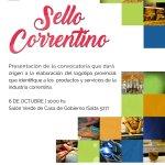 El @CorrientesGob junto con la #Unne, la @cuencadelplata y la Federación Económica de #Corrientes invitan al lanzamiento de #SelloCorrentino https://t.co/ESyF5B5GhS