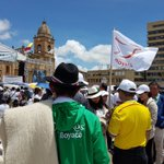 En Tunja Boyacá con macha y evento en la Plaza de Bolívar le dijo hoy #SiALaPaz Sí #PlebiscitoPorLaPaz https://t.co/eSn8SAhV4O