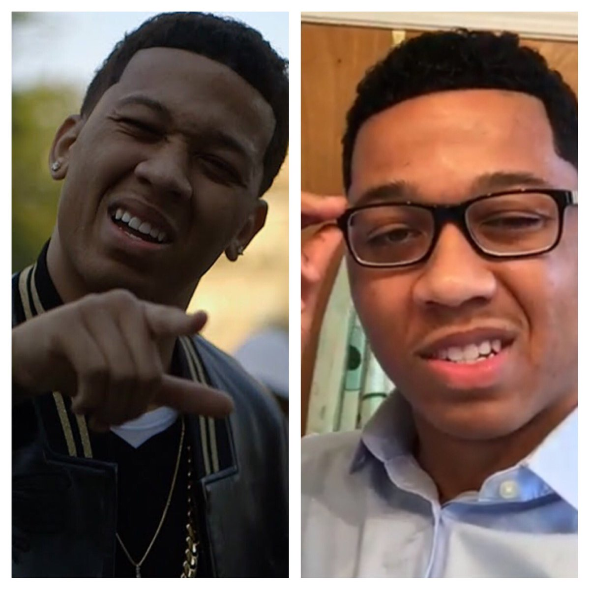 Ladies, get a man that can do both! @LilBibby_ #BibbyGoestoCollege