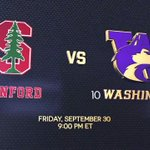 A Pac-12 powerhouse vs. a Pac-12 upstart No. 7 Stanford will head to No. 10 Washington in a battle of the unbeaten https://t.co/daaDDVOupz