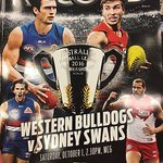Your essential #AFLGF guide - @AFLrecord Grand Final magazine on sale now.. https://t.co/rX4j0XJsip