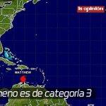 Lluvia en #Cúcuta es consecuencia del huracán Matthew https://t.co/Is2fHk6OsQ https://t.co/IbihImjaRX