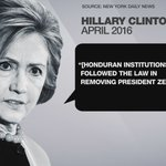 RT AJUpFront: Hillary Clinton the hawk, and the Honduran coup - mehdirhasans Reality Check https://t.co/JCtpEpTdsD