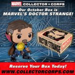 RT & follow @OriginalFunko for the chance to win a Doctor Strange box from @CollectorCorps! https://t.co/PeD8L0nEXW https://t.co/66vQAAL6uC