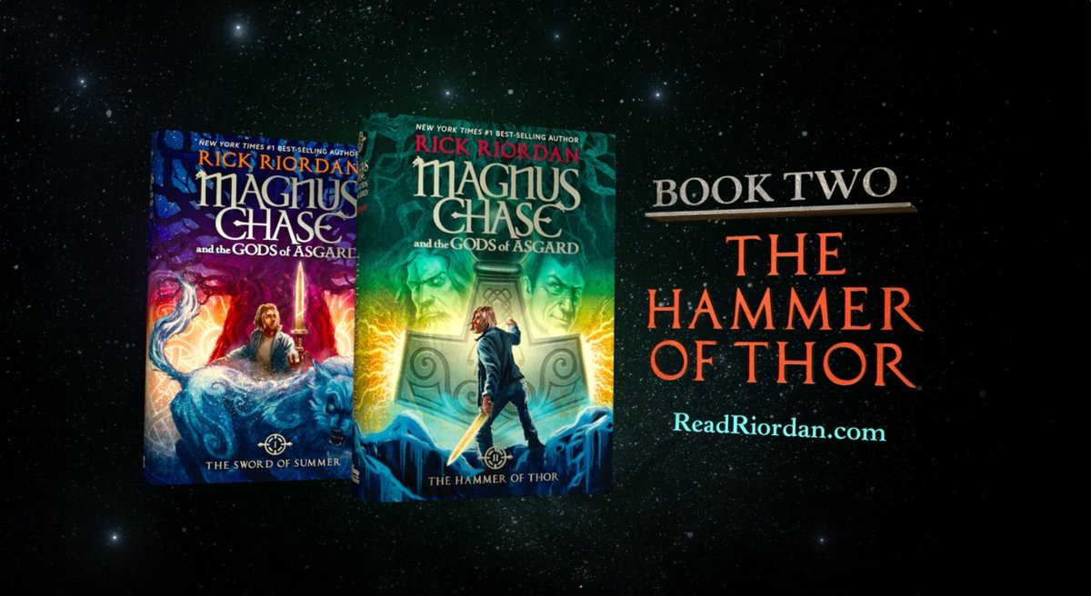 Coming to you this Tuesday. Are you ready for it? #MagnusChase #RickRiordan @camphalfblood https://t.co/iiytqegN3x