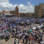 """[Galeria Fotografica] Tunja fue escenario de la gran marcha por la paz """"Pasos de Paz"""" https://t.co/U3TA4K5c5m https://t.co/Jxs5ZLTskH"""