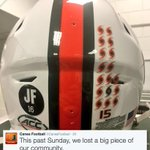 The Miami Hurricanes will honor José Fernández on Saturday with a decal on their helmets. (via @CanesFootball) https://t.co/0JAVKoOBBa