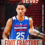 BREAKING: No. 1 overall pick Ben Simmons fractures bone in right foot. Further medical evaluation & treatment options are being considered. https://t.co/46AbpfLp3T