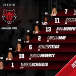 Its time for @stAteVolleyball against ULM at the Convocation Center! #WolvesUp https://t.co/QBS1owv9y0
