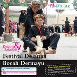 Festival dolanan bocah Dermayu menyambut hari jadi Kab #indramayu489. Tgl 5 Oktober 2016 di alun2 Indramayu https://t.co/mof4GNEbBM