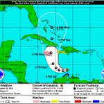 Powerful Hurricane Matthew heading toward Jamaica on Monday likely cat 4 at that time! Hurricane watch issued https://t.co/LgLVbmr18C