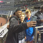 Rain or shine, @FlashGJr always finds time to take selfies with fans. ❤️ https://t.co/PnvjBH477M